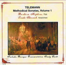 Barbara Hopkins: Telemann Methodical Sonatas, vol. 1